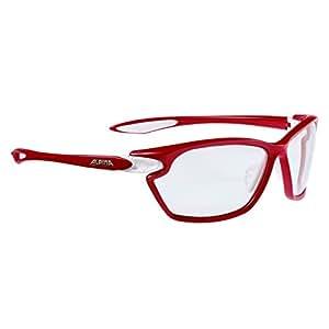 Alpina Sonnenbrille Performance TWIST FOUR 2.0 VL+, red matt-white, A8484151