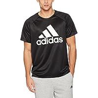 adidas D2M Logo Camiseta, Hombre, Negro, XL