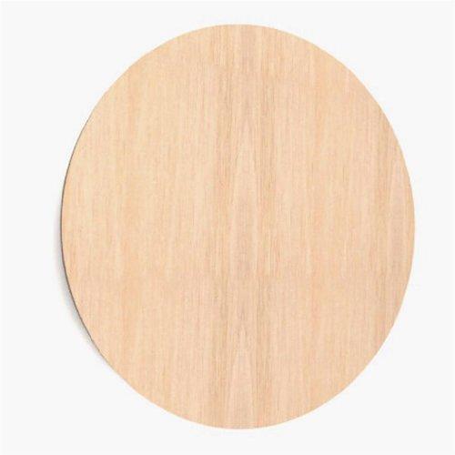 10x Holzplatten, rund, groß, zum Aufhängen Form Dekoration/Verzierung (W69)