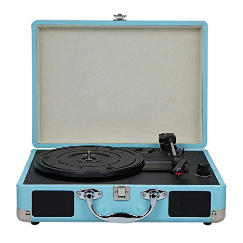 YWT Vinyl Stereo Retro Recorder 3-Gang Tragbares