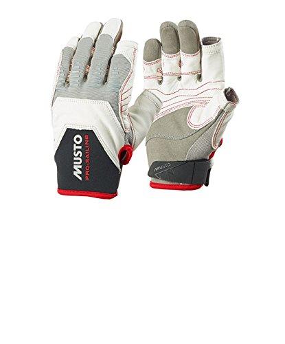 Preisvergleich Produktbild Musto Evolution Sailing Handschuhe L/F weiß L