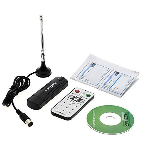 TOOGOO USB DVB-T / T2 / c FM Dab PLP SDR TV Digitale Tuner TV Standard VHF- / UHF Band