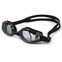 02d4ef0f0ca8a6 Warmiehomy Mode myopie Lunettes de Natation, Noir, Pas de Fuite Anti  Brouillard Protection UV