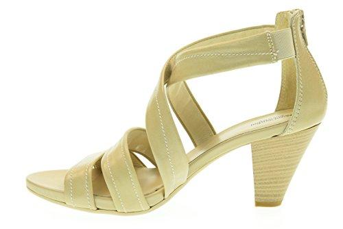 NOIR JARDINS femme sandale talon moyen P615551D / 410 sable sabbia