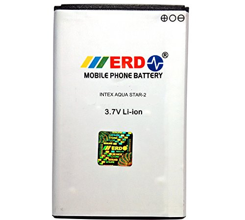 Intex Aqua Star 2 Battery By ERD { SUPER POWER BATTERY }