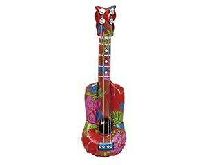 My Other Me Me - Guitarra hawaiana hinchable, talla única (Viving Costumes MOM01572)