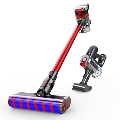 Unbekannt Kabellose Bagless Ultra-Light Staubsauger, 2-in-1 Swivel Lightweight Stick Staubsauger Handheld-Vakuum-Kabel, gut für Haustier Haare, Hard Floor (Für Haar Handheld-vakuum)
