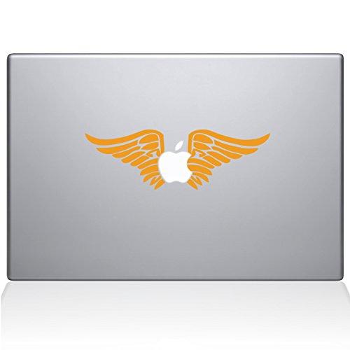 The Decal Guru Cherub Angel Wings Vinyl-Aufkleber, 38,1 cm (15 Zoll) MacBook Pro (2016 und Neuer) Gelb gelb 15
