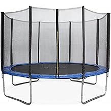 Alice's Garden - Cama elastica, Trampolin de 370 cm, aguanta hasta 150 kg (estructura reforzada) - SATURNE