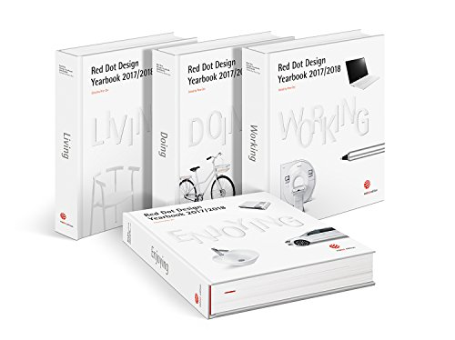 Red Dot Design Yearbook 2017/2018: Living, Doing, Working & Enjoying Buch-Cover