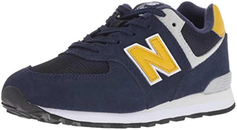 New Balance Boys' 574v1 scarpe da ginnastica, Pigment, 10.5 W US Little Kid | Prodotti di alta qualità  | Uomo/Donna Scarpa