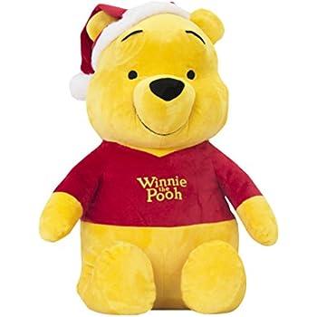 Disney wn32105 no l winnie l 39 ourson en peluche 45 cm - Winnie l ourson noel ...