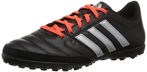 adidas Herren Gloro 16.2 TF Fußballschuhe, Schwarz (Core Black/Silver Metallic/Solar Red), 44 EU