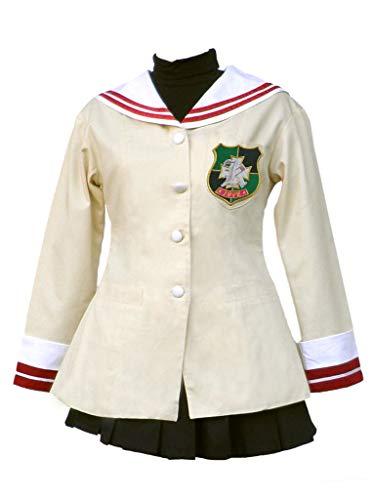 Chong Seng CHIUS Cosplay Costume Nagisa Furukawa School Uniform Outgit for First Grade