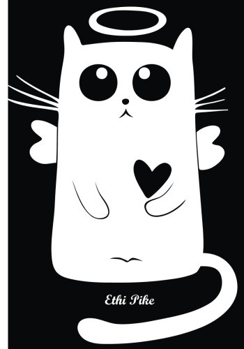 ethi-pike-black-white-angel-cat-notebook-extended-lines-soft-matte-cover-an-ethi-pike-collectible-jo