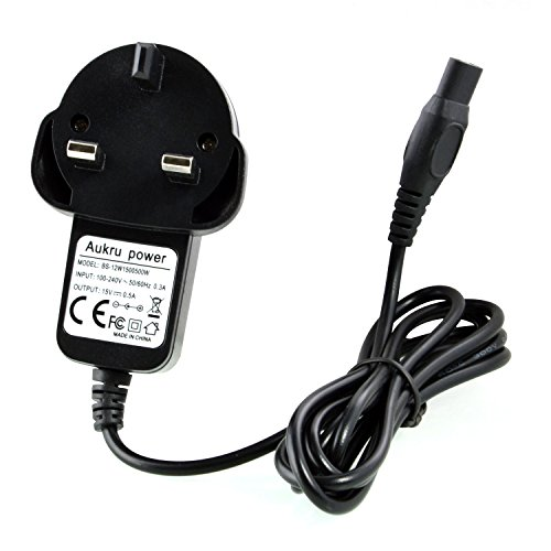 aukru-15v-05a-500ma-power-supply-travel-wall-charger-with-15m-cable-for-philips-shaver-aquatouch-at-
