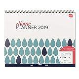Boxclever Press Home Planner Calendrier 2019. Organiseur familial, calendrier familial 2019. Grand calendrier mural 2019 d'un mois par page. S'étend d'aujourd'hui à décembre 2019. EN ANGLAIS