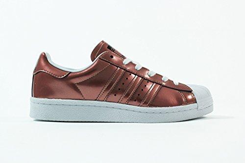 adidas Superstar Boost W Copper Metallic White 42