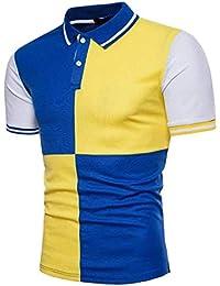 d37f16b965e9 Poloshirt Herren Sommer Slim Fit Freizeit Anzug Business Hochzeit Hemden  Jungen Männer Nner Kurzarm T Shirt
