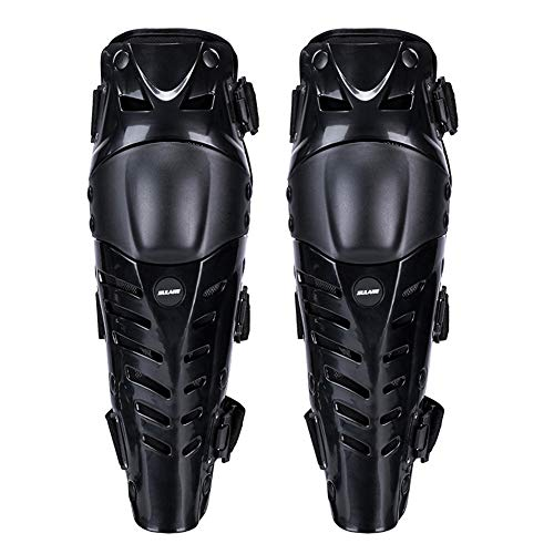 JoyFan Motorcycle Knee Protector Outdoor Guard Hard Collision Avoidance Three Sections Long Leg Sleeve Adjustable 1 Pair Movable Breathable Racing Cycling -