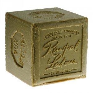 RAMPAL LATOUR Savon de Marseille cube vert -