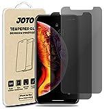JOTO iPhone XS Max Pellicola Protettiva Privacy,Protezione per Schermo in Vetro Temperato Anti-Spy per Apple iPhone Xs Max 6.5 Pollice 2018 (2 pacchi)