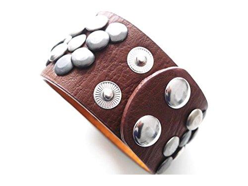 nieten-armband-damen-accessoire-verstellbar-4-cm-breit-manschette-damen-herren-schmuck-cognac-braun-