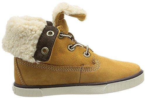 Timberland Ek Deering Fold Down Unisex-Kinder Sneaker Gelb (weizenfarben)