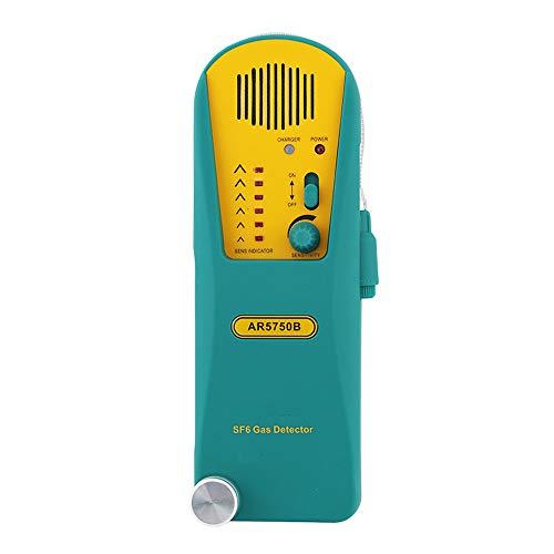 QWERTOUY Kältemittelgas-Leckdetektor Digital-Halogen-Gas-Detektor Alarm Tester Freon Gas Analyzer Gas-Leck Alarm -