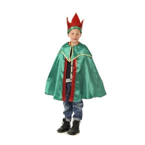 King or Wise Man Balthazar - Kids Costume - One Size 3-7 Years 3 - 7 years by A2Z Kids (Balthazar Kind Kostüme)