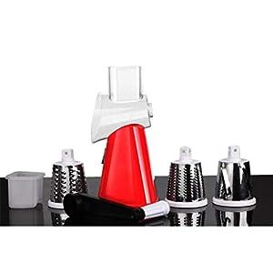 LoveOlvidoD Multifunktions-Handschnitt Artefakt Hand Push Rotary Shredder Gerät Küchenhelfer Zubehör Tragbare