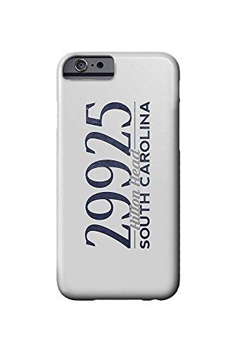 South Carolina Womens Zip (Hilton Head, South Carolina - 29925 Zip Code (Blue) (iPhone 6 Cell Phone Case, Slim Barely There))