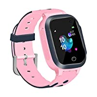 Tawcal Kids Smart Watch Phone for Girls Boys, Children Smartwatch with GPS Tracker Touch Screen SOS Alarm Voice Chat Two Way Call Student Wrist Watch for 3-12 years old(English Menu)