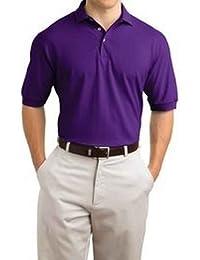 Hanes Men`s ComfortSoft® Cotton Pique` Polo, S-Purple
