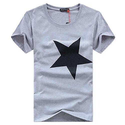 Descripción: Alta calidad. Para hombre. Cuello: redondo. Tipo de artículo: Camisas. Material: algodón. Estilo: casual. Estilo de la manga: manga corta. Color: negro, gris, rojo, blanco. El paquete incluye: 1 camiseta para hombre. Tamaño Busto Hombro ...