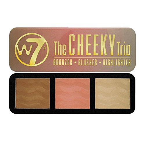 w7 Cheeky Trio Bronzer/Blush/Illuminateur 141 g