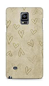 Amez designer printed 3d premium high quality back case cover for Samsung Galaxy Note 4 (intage s)