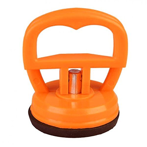 bodhi2000Mini Glas Saugnapf-Griff Dent Abzieher Handy-Display Reparatur Werkzeug, Orange, Einheitsgröße