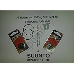 Lot de deux - Suunto D4/D4i batterie et O Ring Set