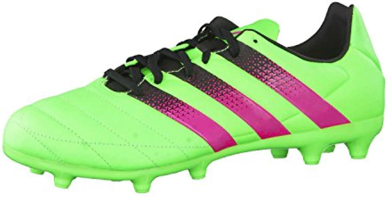 Adidas Ace 16.3 FG/AG Leather, Botas de Fútbol para Hombre