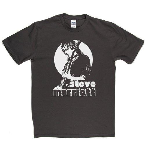 Steve Marriott English Musician Rock and Roll T-shirt Grau