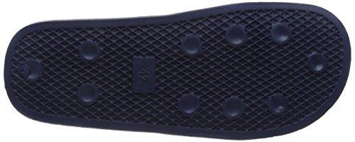 Slydes Herren Logo M Dusch-& Badeschuhe Blau (Marineblau)