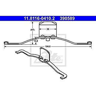 ATE 11.8116-0410.2 Power Brake Systems