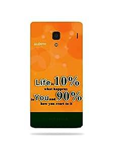 alDivo Premium Quality Printed Mobile Back Cover For Xiaomi Redmi 1S / Xiaomi Redmi 1S Back Case Cover (MKD1010)