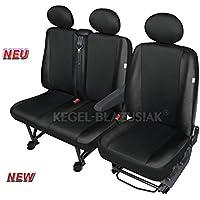 Autositzbezüge Ford Tourneo Connect Grand II 13-7-Sitze Grau Schonbezug Schoner