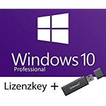 Windows 10 Professional 32/64 Bit USB Stick Deutsch und Key Vollversion [Software] Windows 10