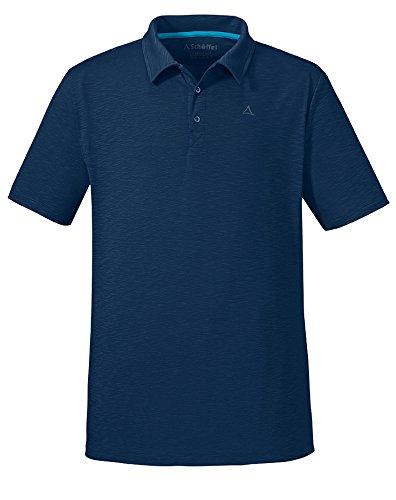 Schöffel Herren Poloshirt Izmir Shirt, Dress Blues, XL