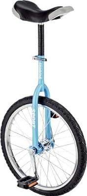 """Fishbone Einrad 18"""" matt-blau Luxus"""