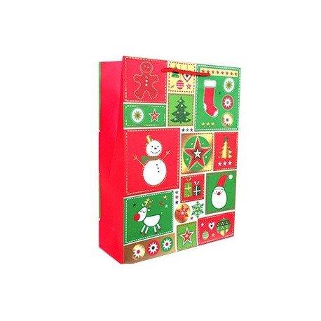 nktasche Details Weihnachten (Müll Tasche Kostüm)