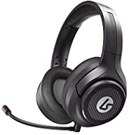 LucidSound LS15P Wireless Gaming Headset for Sony PlayStation, Headphones, PS5, PS4, Mobile, PC, Chat, Gaming